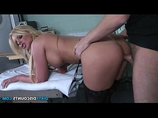 Busty patient pussyfucked by the doctor