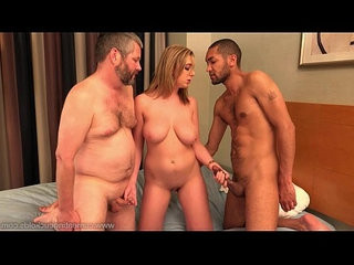 Cum eating cuckolds brooke wyldes hubby gives her a bbc