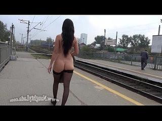 Wearing stockings in public